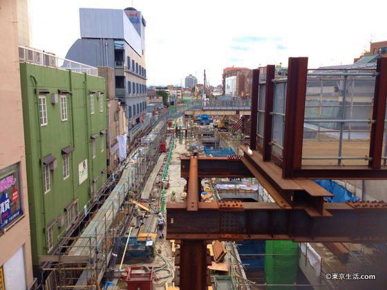 下北沢駅の再開発