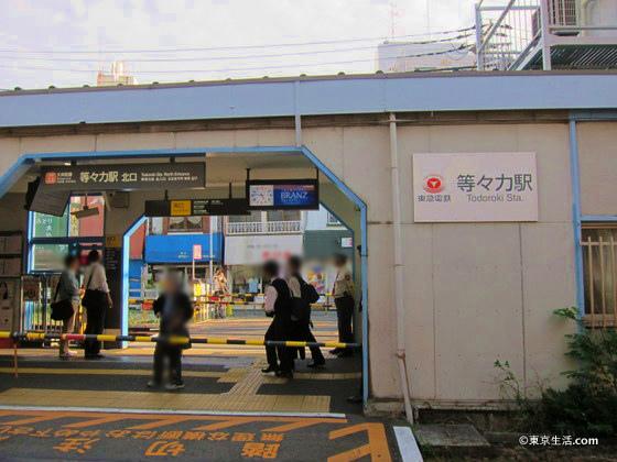 東急大井町線の等々力駅