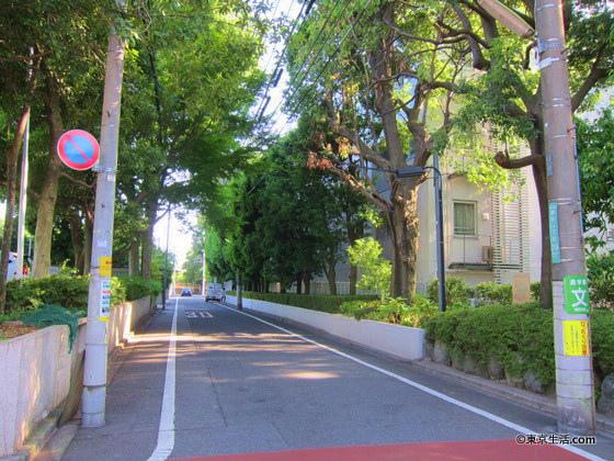 瀬田の高級住宅街