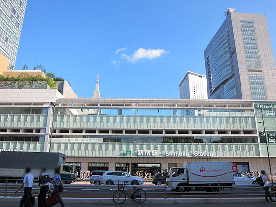 新宿駅甲州街道口