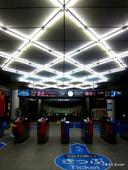 渋谷駅の改札口