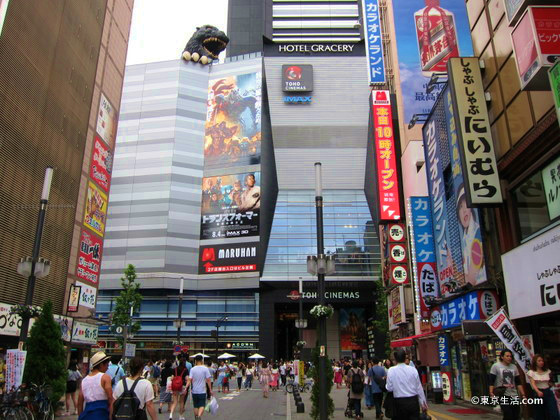 歌舞伎町のシネコン