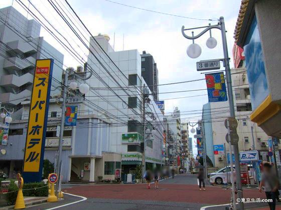 歌舞伎町のビジネスホテル