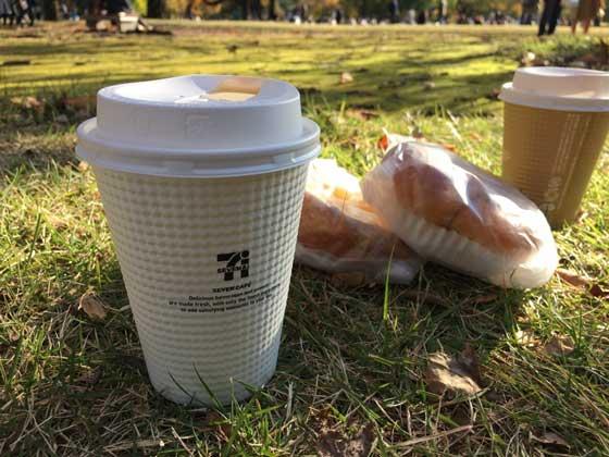 新宿御苑でピクニック