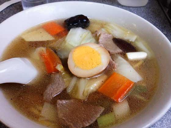 喜楽の五目麺|渋谷のおすすめグルメ