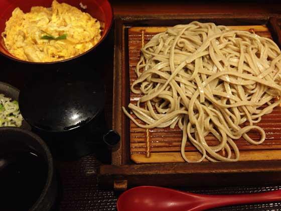「嵯峨谷」の蕎麦|渋谷のおすすめグルメ