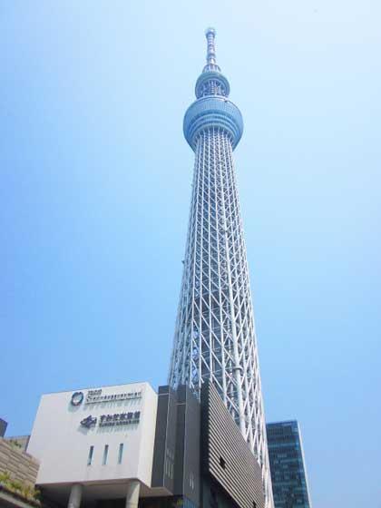 東京スカイツリーの展望台