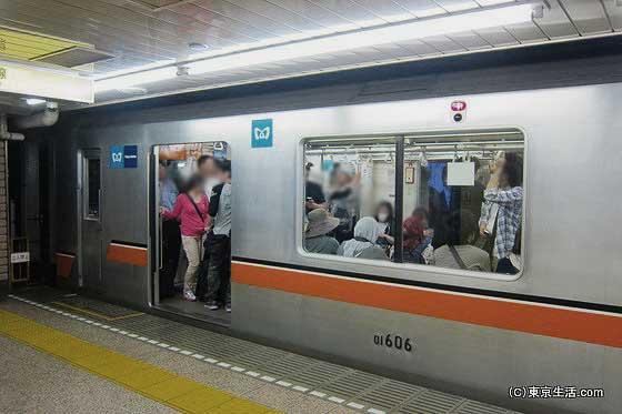 銀座線と浅草駅