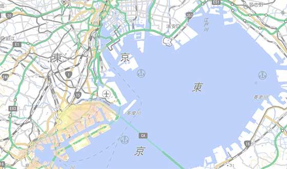 東京の津波の危険性