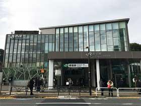 新しい表参道口&竹下通り口|原宿駅構内図