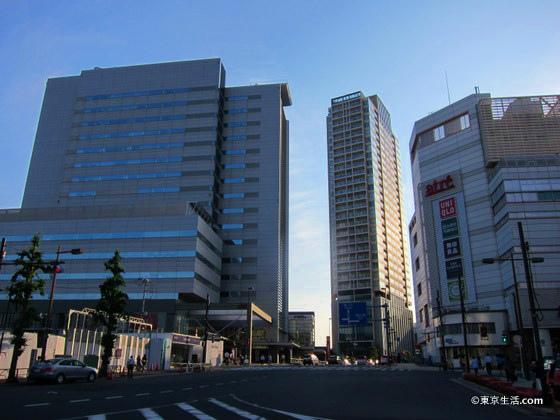 目黒駅前の高層マンション