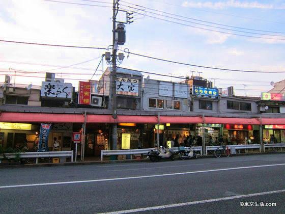 目黒の大衆的な飲食店