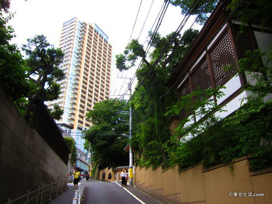 住宅街散歩|目黒の地形は岬だから坂の街の画像