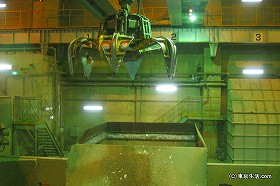 池袋の巨大ゴミ処理システムを見学|豊島清掃工場
