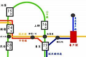 路線図|亀戸駅の路線とバス