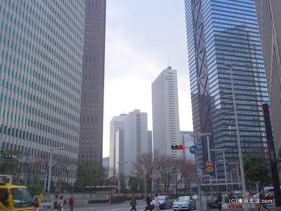 西新宿の高層ビルエリア