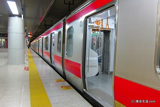 東京駅での京葉線乗換