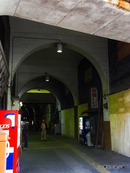 国道駅の怖い雰囲気