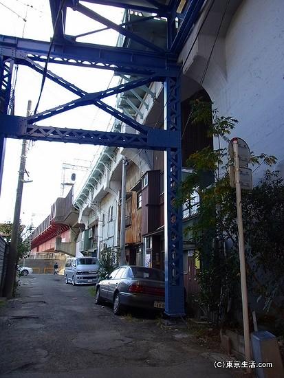 国道駅の住宅